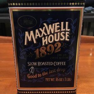 🌻Vintage Coffee Maxwell House Tin